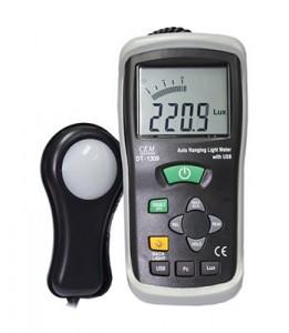 เครื่องวัดแสง (Lux Light Meter) CEM รุ่น DT-1309