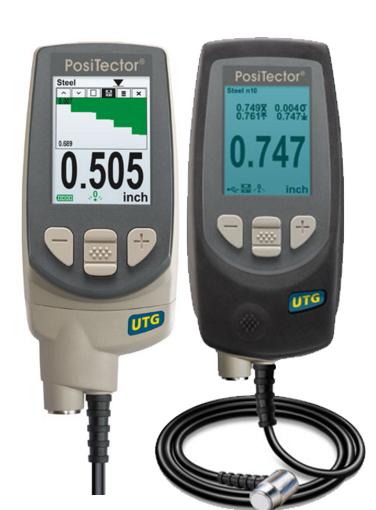 เครื่องวัดความหนา ultrasonic จาก positector UTG