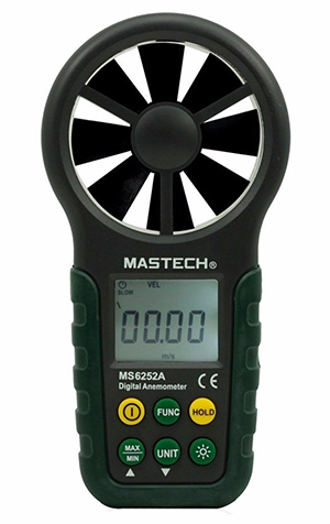 เครื่องวัดความเร็วลมดิจิตอล MS6252A