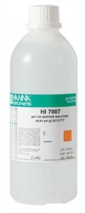 น้ำยา pH Buffer สอบเทียบเครื่องวัดรุ่น HI7007L ค่า pH 7.01