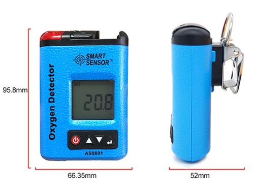 เครื่องวัดก๊าซออกซิเจน Oxygen Meter รุ่น AS8801