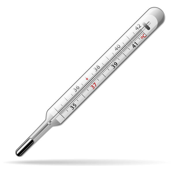 เครื่องวัดอุณหภูมิแบบปรอทแก้ว
